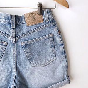 Vintage GAP Light Wash 100% Cotton Denim Shorts